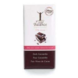 Balance cukormentes étcsokoládé kakaóbabbal
