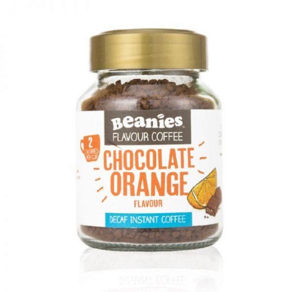 Beanies koffeinmentes csokis narancsos instant kávé