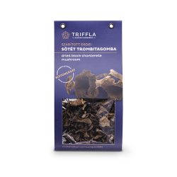 Triffla szárított sötét trombitagomba