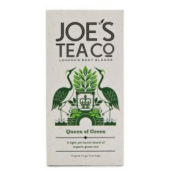 Joe's Queen of green bio tea - a királynő zöld teája
