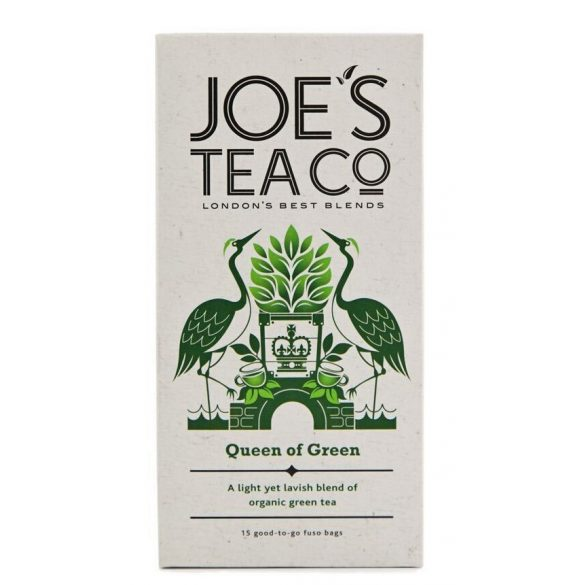 Joe's Queen of green bio tea - a királynő zöld teája