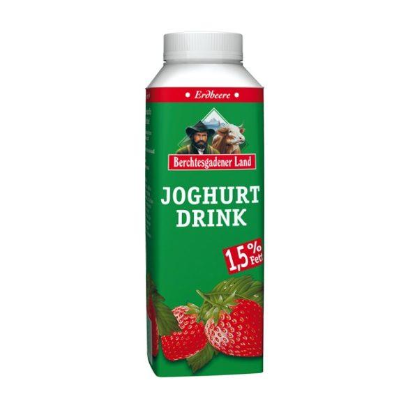Berchtesgadener probiotikus ivójoghurt epres