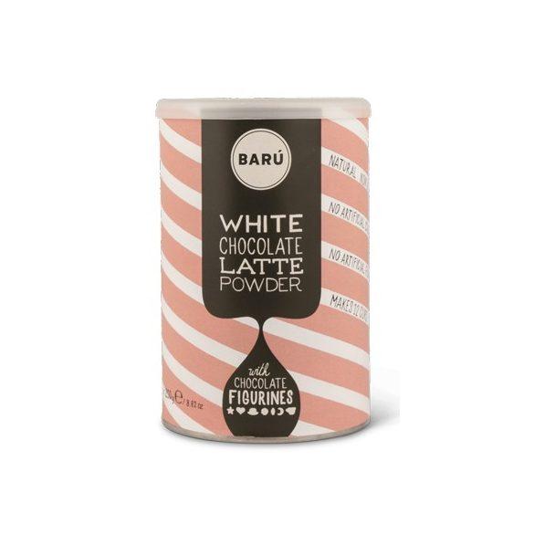 Baru fehér csokoládés chai latte por