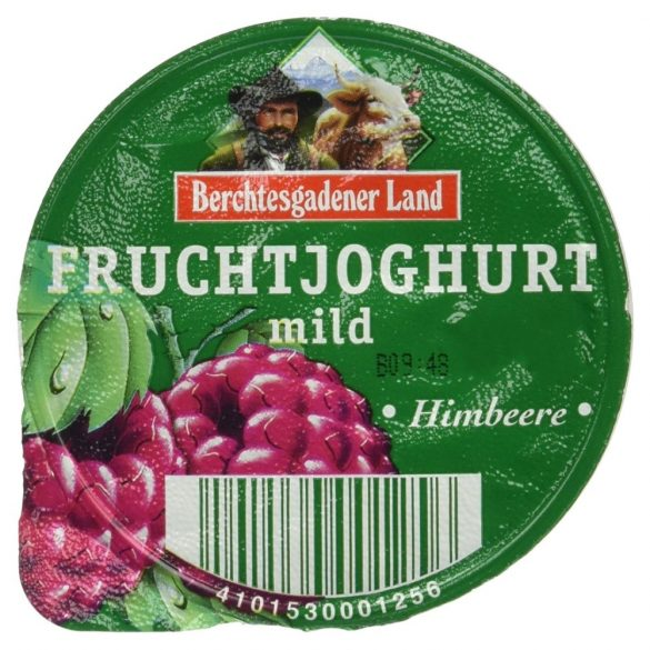 Berchtesgadener málnás joghurt