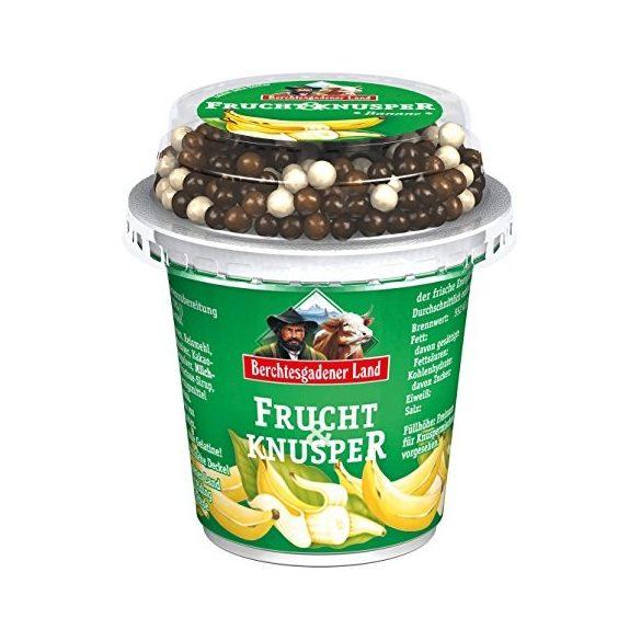 Berchtesgadener müzlis banános joghurt