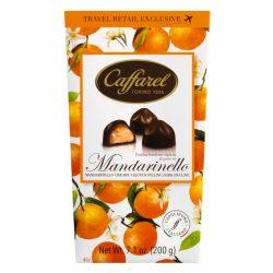 Caffarel Mandarinlikőr krémmel töltött étcsokoládé