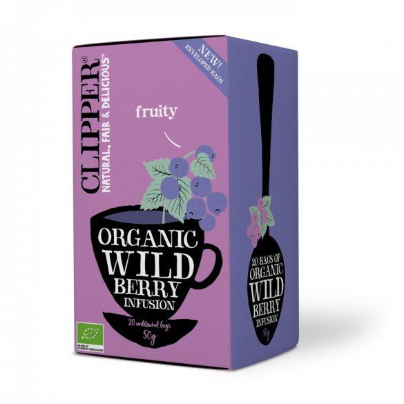Clipper bio erdei gyümölcsös tea