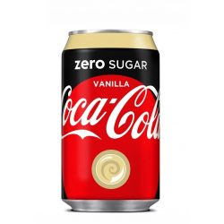 Coca Cola zero vaníliás