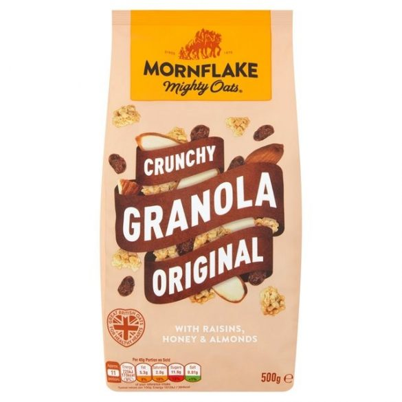 Mornflake granola mézzel és magvakkal