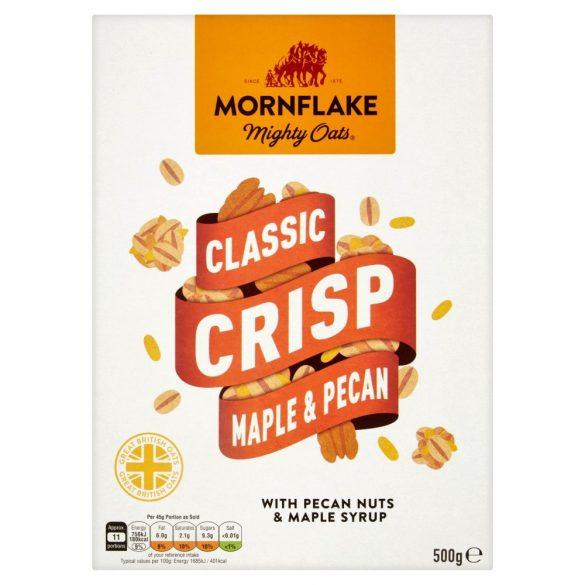 Mornflake zab és rizspehely pekán dióval és juharsziruppal