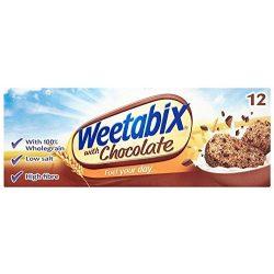 Weetabix csokoládés teljes kiőrlésű búzaszelet