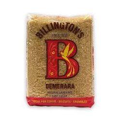 Billington demerara nádcukor
