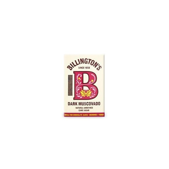 Billington sötét muscovado cukor