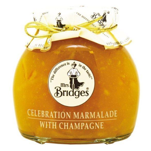 Mrs Bridges narancs dzsem pezsgővel