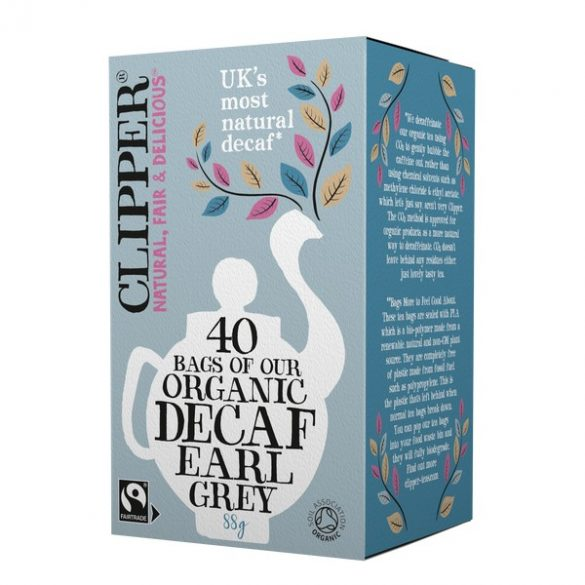 Clipper bio Earl Grey tea