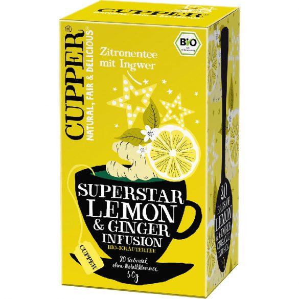Clipper bio citrom gyömbér tea