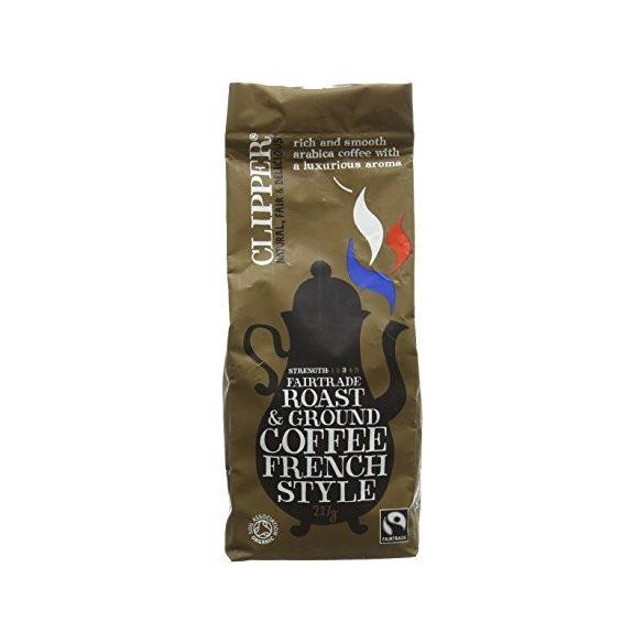 Clipper bio őrölt kávé francia pörkölés