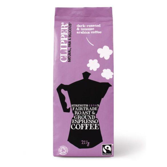 Clipper bio őrölt espresso kávé olasz