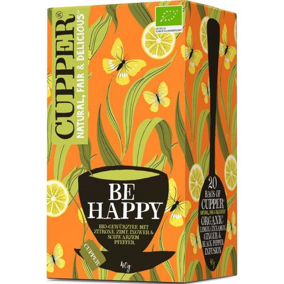 Clipper Happy Mondays citromos gyömbéres tea