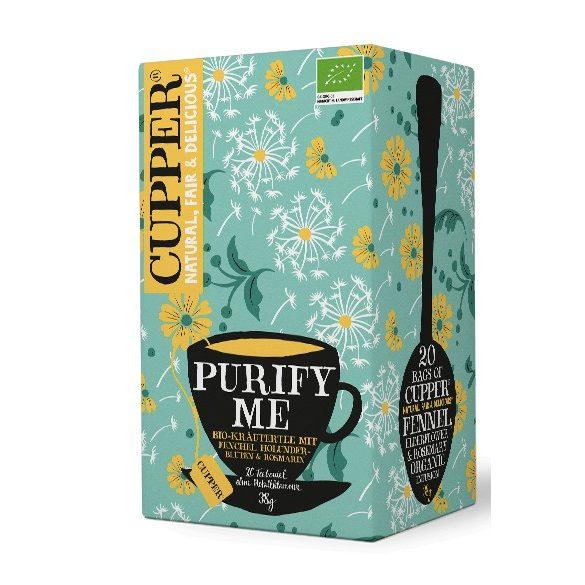 Cupper Purify me bio tisztító teakeverék