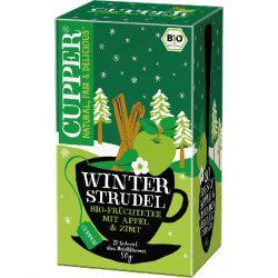 Cupper almás fahéjas bio tea