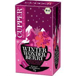 Cupper téli csodabogyós bio tea
