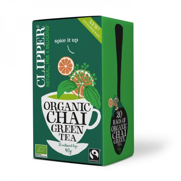 Clipper bio zöld chai tea