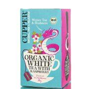 Clipper bio fehér tea málnával