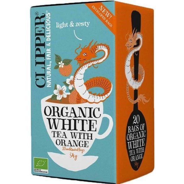 Clipper bio fehér tea naranccsal