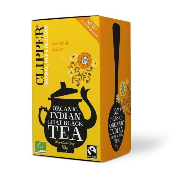 Clipper Indian chai bio fekete tea