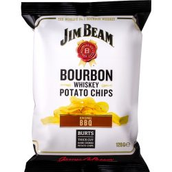 Jim Beam bourbon whiskey bbq ízesítésű chips