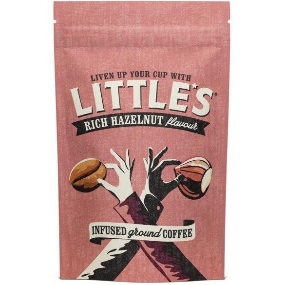 Little's őrölt arabica kávé mogyoró ízesítéssel