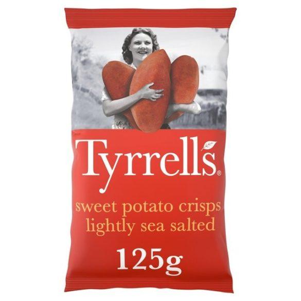 Tyrrells édes burgonya chips tengeri sóval