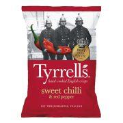 Tyrrells burgonyachips édes chilivel és piros paprikával