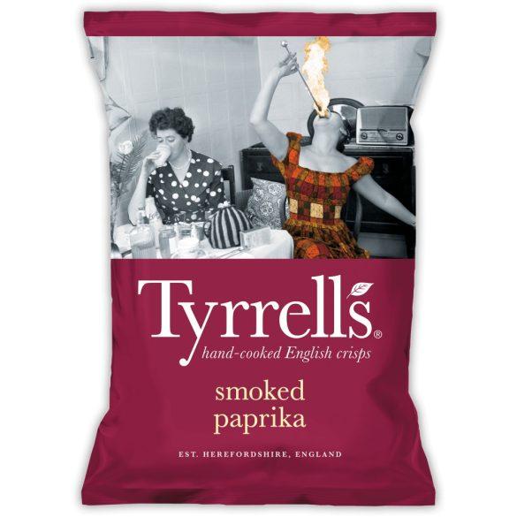 Tyrrells füstölt paprikás burgonyachips