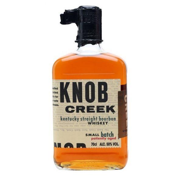 Knob Creek Kentucky bourbon whiskey