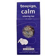 Teapigs bio nyugtató tea valeriánával