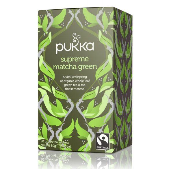 Pukka bio Supreme Matcha zöld tea