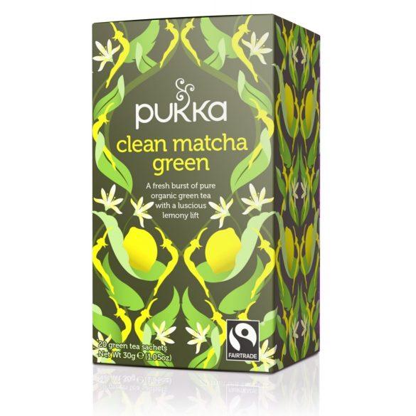 Pukka bio zöld tea citrommal