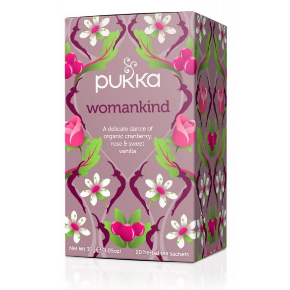 Pukka Womankind bio tea