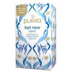 Pukka bio Feel New méregtelenítő tea