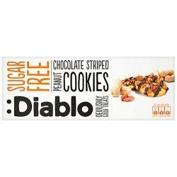 Diablo cukormentes mogyorós keksz csokoládé öntettel