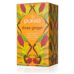 Pukka bio három gyömbér tea