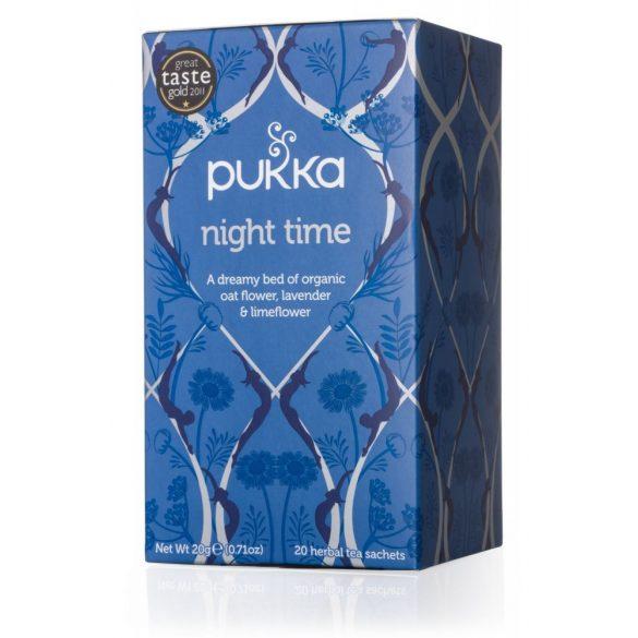 Pukka night time bio elalvást segítő tea
