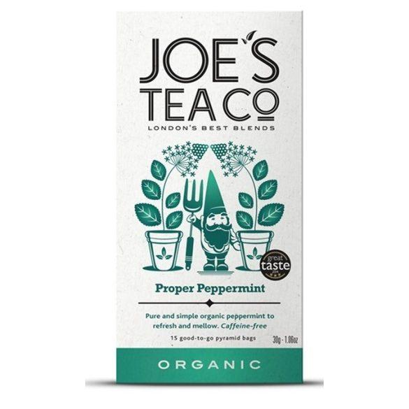 Joe's bio menta tea