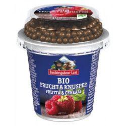 Alpenmilch bio málnás joghurt műzlivel
