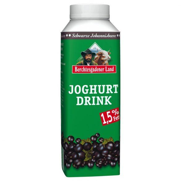 Berchtesgadener probiotikus ivójoghurt fekete ribizlis