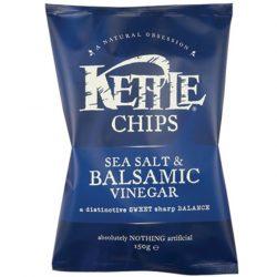Kettle sós balzsamecetes chips 150g
