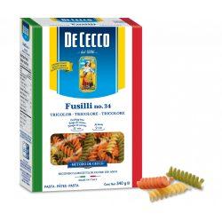 De Cecco tricolore fusilli tészta