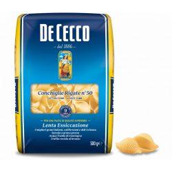 De Cecco conchiglie rigate N50 kagylótészta